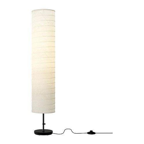 IKEA 0616469947291 A++, Holmö Standleuchte, Plastik, weiß, 22 x 22 x 116 cm