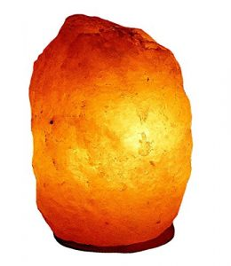 Salz Lampe Salzlampe Kristall Lampe Bosalla 2 – 3 kg incl. Spezial Leuchtmittel südlich vom Himalaya (2156)