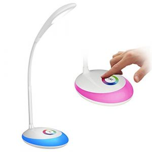 HEIMDALL led lampe touch led lampe für augenschutz 3 ebenen dimmer helligkeit einstellbare beleuchtung leselampe licht zum lesen rezeption lichtschreibtisch licht led nachtlicht Schreibtischlampen