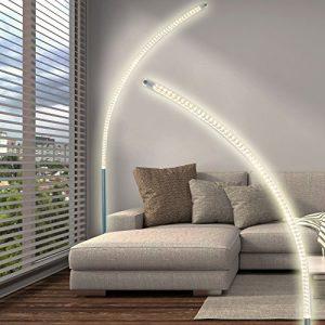 Stehlampe gebogen Stand Leuchte LED-Stehleuchte Stand Design Lampe Stand Strahler
