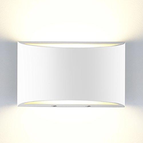 Yissvic Wandleuchte Wandlampe 5W LED Wandbeleuchtung Innen Modern Design Warmweiß