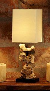 Designlampe aus Treibholz HIGHLAND, hell, Höhe ca. 48 cm