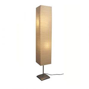 vidaXL 135 cm Stehlampe Papierlampe Standleuchte Leselampe Stehleuchte Leuchte