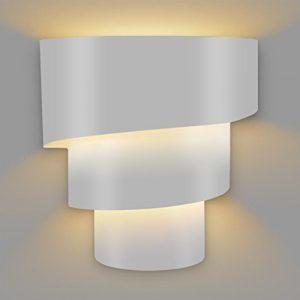 Amzdeal Wandleuchte E27 Wandlampe, mit Maximalleistung 40W, Wandbeleuchtung aus Eisen (ohne E27 Glühbirne)