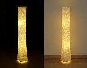 moderne 52″ Standleuchte Stehlampe Warme Atmosphäre Schlafzimmer Wohnzimmer 20*20*132cm Softlighting