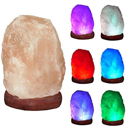 USB Himalaya Salzlampe Kristallsalzleuchte Schreibtischlicht Nachtlicht Steinlampe RMY 192