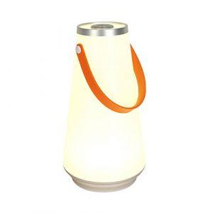 LEDMOMO LED Nachtlicht für Kinder Tragbare Hängelampe Schlafzimmer USB Wiederaufladbare Dimmbar energiesparende Übergabe Wandleuchte, Nachttischlampe