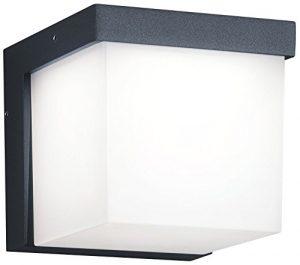 Trio Leuchten LED-Aussen-Wandleuchte Yangtze Aluminiumguss, anthrazit, Acryl weiß 228260142