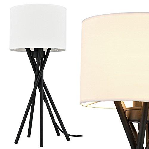 [lux.pro] Elegante Tischlampe - Mikado - (1 x E14 Sockel)(57 cm x Ø 25 cm) Schreibtischlampe oder Nachttischlampe