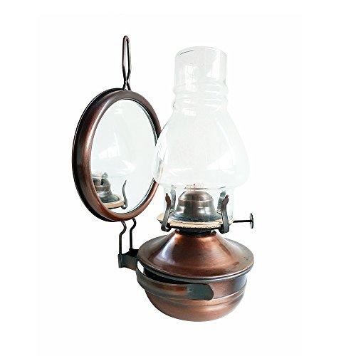 Candley Kreative Retro Petroleumlampe Antike Kann Paraffin Lampe Bronze Camping Tragbare Hängeleuchten Outdoor Zelte Licht Möbel Sammlung Geschenk ( Size : Style B )