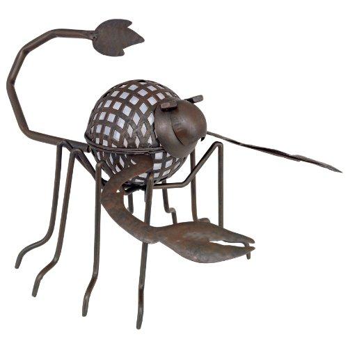 LED Solar Leuchte Außen Beleuchtung Tier Skorpion Garten Lampe Kugel Eglo 47537