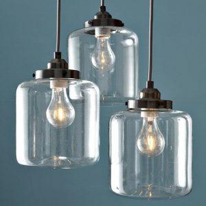 Pendelleuchten – Inklusive Glühbirne – Vintage/Traditionell-Klassisch – Wohnzimmer/Esszimmer 60W E27 Eisen Pendent Licht mit 3 Lights