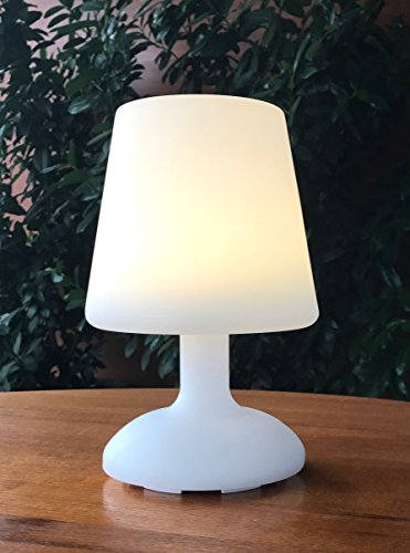 LED Akku Lampe Tischlampe Tischleuchte Indoor & Outdoor