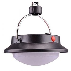 Generic 60 LED, Ultra hell, Camping-Laterne, 3 Leuchtmodi, für innen und außen, Camping-Lampe mit Lampenschirm, rund-Zelt Campingplatz Hängelampe, Weiß