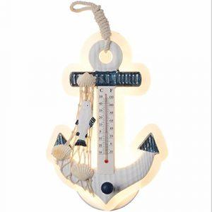 QPGGP-Wandlampestil wand lampe kreative persönlichkeit thermometer zu hause dekoration szene dekoration kinder nachttischlampe