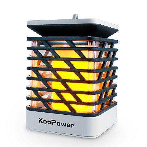 Koopower Solarleuchten Außen Solar Batterien Außenleuchte,Wandleuchte,IP55 Wasserdichte Solar Betriebene Lampe,Solarlampe für Wände, für den Gartendeko , Auffahrt Innenhof,Hof,Flur,Veranda.