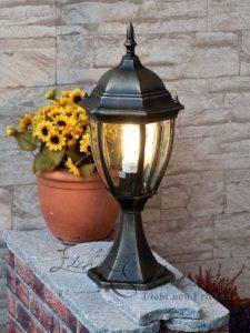 """Hochwertige XL Außen-Standleuchte Außen-lampe """"Toronto"""" in antik Stockellampe Wegleuchte Wegelampe"""