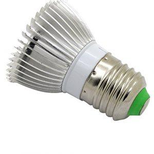 E27 LED Pflanzenlampe,Jaminy 28-Er Wachsen Licht Veg Blume Indoor Pflanze Hydrokultur Vollspektrum Lampe Schneller Wachsen Eine Bessere