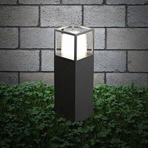 s.LUCE LED Sockelleuchte Cube 30cm Poller 10W LED Standleuchte Sockellampe