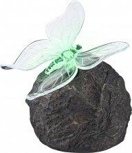 Globo LED Funktion Outdoor Solar Rock mit Schmetterling Lampe