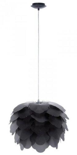 EGLO 92989 Pendelleuchte, Metall, E27, schwarz