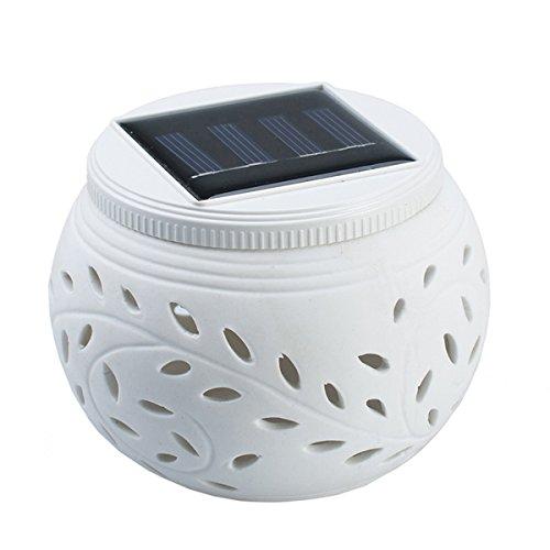 LEDMOMO LED Solarleuchte Dekoleuchte Kugel Gartenleuchte Nachtlicht