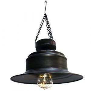 LED Solar Laterne Gartenleuchte CampingleuchteGarten Dekoration Hängeleuchte für Party Garten Hochzeit Terasse Haus -Gall&Zick