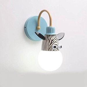 WW Kinder Wandleuchte Schlafzimmer Nachttischlampen Kreative Cartoon Kinderzimmer Lichter Jungen MäDchen Zimmer Lichter Tier Prinzessin Lichter, No Light Source, C