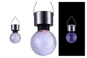LED Solarleuchte Solarlampe Gartenbeleuchtung Hängelampe Baum-Beleuchtung Außenlampe Gartenparty Farbwechsel (Dekoleuchte, Gartenleuchte, Außenleuchte, Party-Beleuchtung, Garten-Deko, Hängeleuchte)