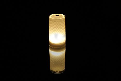 Imagilights Venetian LED Tischlampe, 24 Farben mit Farbwechsel, Kerzenmodi, Höhe ca. 15 cm, Durchmesser ca. 8,3 cm, rund, kabellos, mit Akku, inklusive Ladegerät, wasserdicht, stoßfest