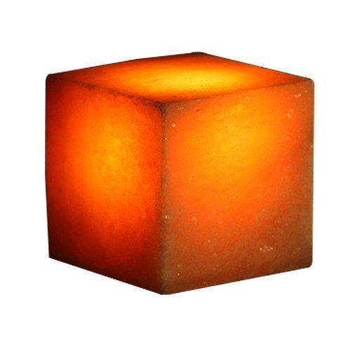 Salz Lampe, Quadratisch, Poliert