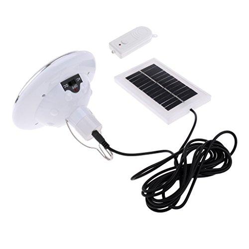 perfk Außen Garten Solarleuchte Außenleuchte Outdoor LED Solar Garten Beleuchtung Lampe