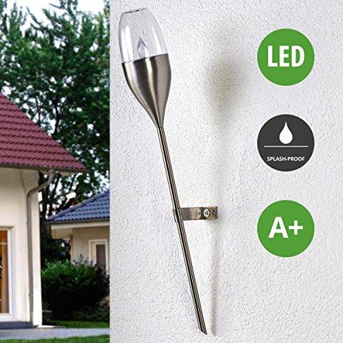 LED Solarleuchte außen