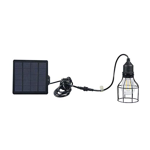 OWSOO Solarlicht 1 Packs Pendelleuchte Wasserdicht Outdoor Landschaft Licht mit 3 Modi Einstellung Warmes Licht Perfekte Dekoration für Garten Hof