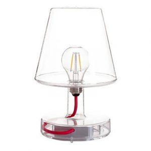 Fatboy® Lampe Transloetje Transparent | Tischlampe, Leselampe, Nachttischlampe | ohne Kabel | aufladbar mit Mini-USB