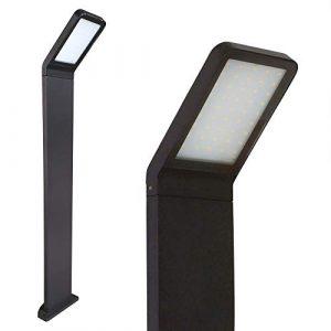 LED Standleuchte 80cm 10W Außenleuchte Außenlampe Wegeleuchte Pfostenleuchte 337-800 Standlampe