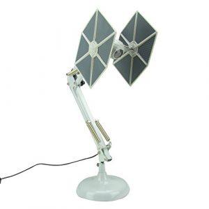 Star Wars Tie Fighter beweglich Schreibtisch Lampe, Metall, Multi