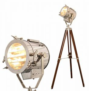 Stehlampe Home Deko Vintage Design Stativ Beleuchtung Searchlight Spot Licht