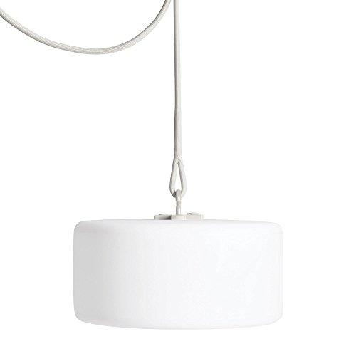 Fatboy® Thierry le Swinger - Hängelampe - Stehlampe - Akku-Lampe - Farbe: Light-Grey/hellgrau