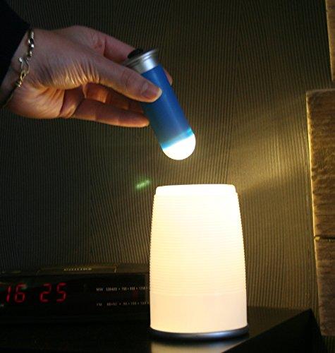 DKB 2in1 LED Tischlampe - Partylampe Taschenlampe ideal für Garten und Terasse