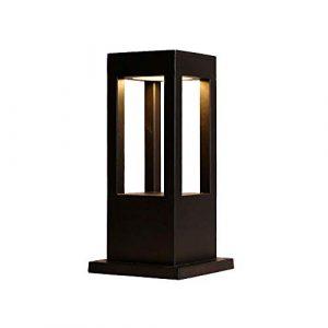 MMJ Moderne minimalistische Mode-Säulenlampe – Rasen-Garten-Landschaftslampe-Garten-Landhaus-chinesische Stehlampe im Freien, dekorative Beleuchtung (größe : S)