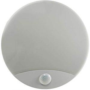 LED Wandleuchte mit Bewegungsmelder IP44 10W 910Lumen 3000k 230V warmweiß für Feuchträume geeignet