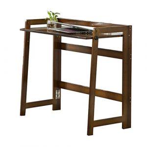Klapptisch XUERUI Faltbarer Computer-Schreibtisch-Haushalts-modernes Einfaches des Festen Holzes Dauerhaft (größe : 80 * 104cm)