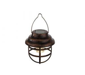 LED Solarleuchte Solarlampe Gartenbeleuchtung Hängelampe Baum-Beleuchtung Außenlampe Laterne (Dekoleuchte, Gartenleuchte, Außenleuchte, Garten-Deko, Hängeleuchte)