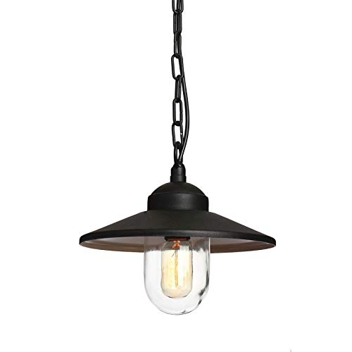 Außenlampe Hängelampe 1x60W/E27 KLAMPENBORG KLAMPENBORG8 BK Elstead