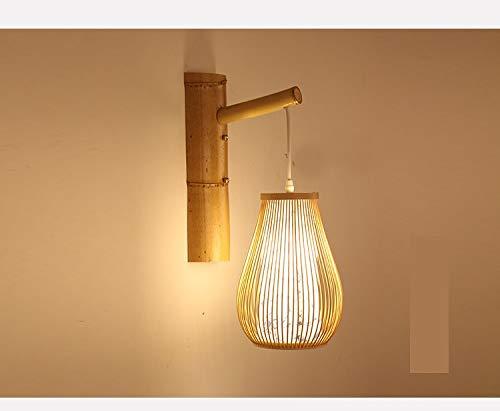 MIWEN Wandlampe Gang Wohnzimmer Schlafzimmer nachttischlampe Wandleuchte Retro Stil Restaurant Klassische teehaus Blaue und wei?e Porzellan Wandleuchte