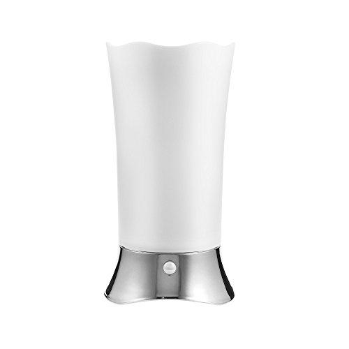 EbuyChX Motion Sensor Tischleuchte Schreibtischlampe für Zuhause Silber OHNE Fernbedienung