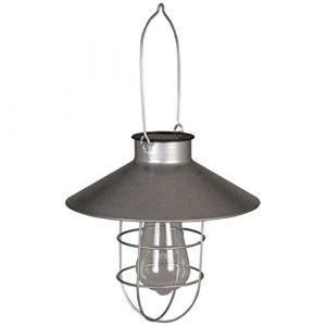 Luxform LED Solar-Hängeleuchte Garten Außenleuchte Lampe Hoflicht Ravenna 40103