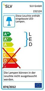 SLV LED Pollerleuchte LOGS 70 | Design Außen-Standleuchte, stilvolle Außenbeleuchtung | Outdoor LED Wegeleuchte, Außen-Leuchte, Weg-Beleuchtung, Garten-Lampe Strahler | LED Inside, EEK A-A++, 8W