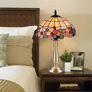 TRRE-Europäische Pastoral Shell Dekoration Schlafzimmer Nachttisch Amerikanische Einfache Studie Wohnzimmer Tischlampe heiraten